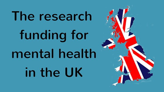 Research funding for mental health in the UK (infographic)