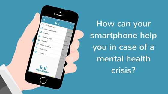 How can your smartphone help you in case of a mental health crisis