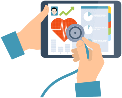 mhealth solution for mental healthcare improves health outcomes