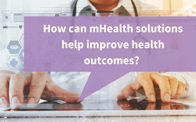 mHealth solutions can improve health outcomes