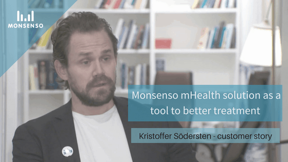 """mHealth for better mental health treatment"" Kristoffer Södersten's Customer Story"