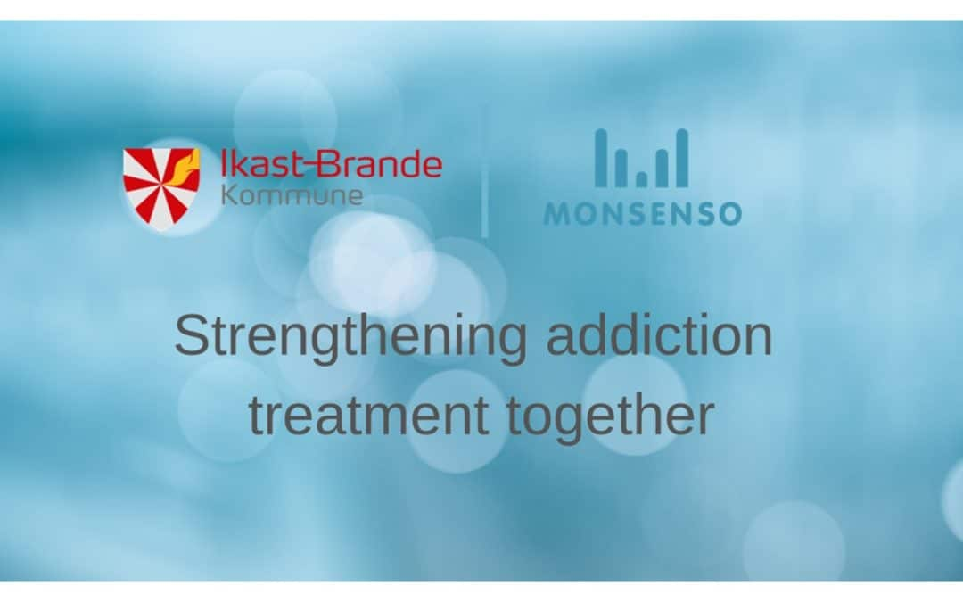 Municipality of Ikast-Brande strengthens its addiction services with Monsenso