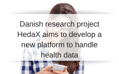Research project HedaX aims to develop a new platform to securely handle health data