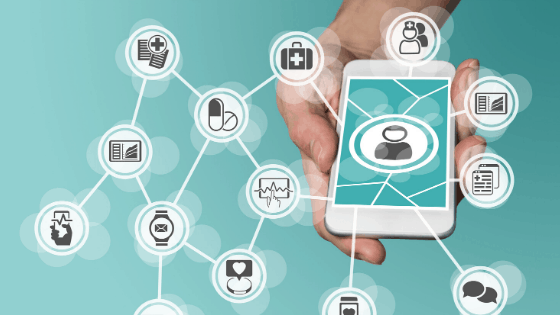 What is the difference between a health app and mhealth solution?